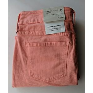 NYDJ Alina Convertible Ankle Jeans - Size 8 - NWT